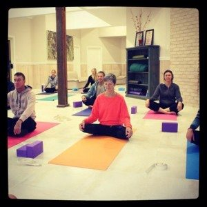 Yoga at Wallabi