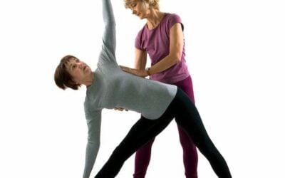 Sensitivity of Touch: Yoga Adjustments